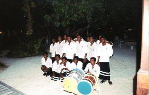i Bodu Beru - serata maldiviana