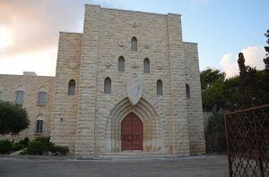 santuario mariano sul Monte Carmelo - la Chiesa -
