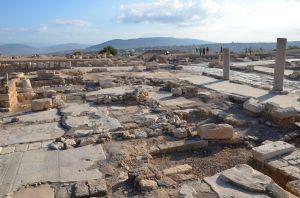 Sepphoris (anche Zippori) - gli scavi -