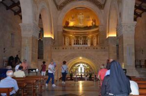 Monte Tabor - Basilica della Trasfigurazione - Interno -