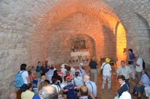 Nazareth - Sinagoga che si pensa frequentasse Gesù -