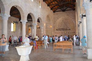 Tabgha - Chiesa della moltiplicazione dei pani e dei pesci