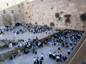 Gerusalemme - Muro della preghiera