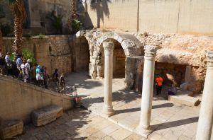Gerusalemme - il Cardo: Il cardine (in latino: kardo)