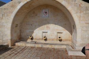 Nazareth - La fontana della Vergine - luogo esterno alla chiesa ortodossa