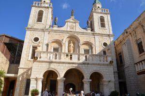 Cana di Galilea - Chiesa della trasformazione dell'acqua in vino