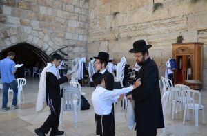 Gerusalemme - il muro del pianto